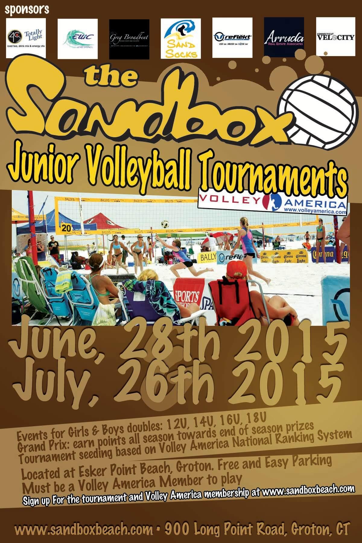 sandbox juniors tourny facebook